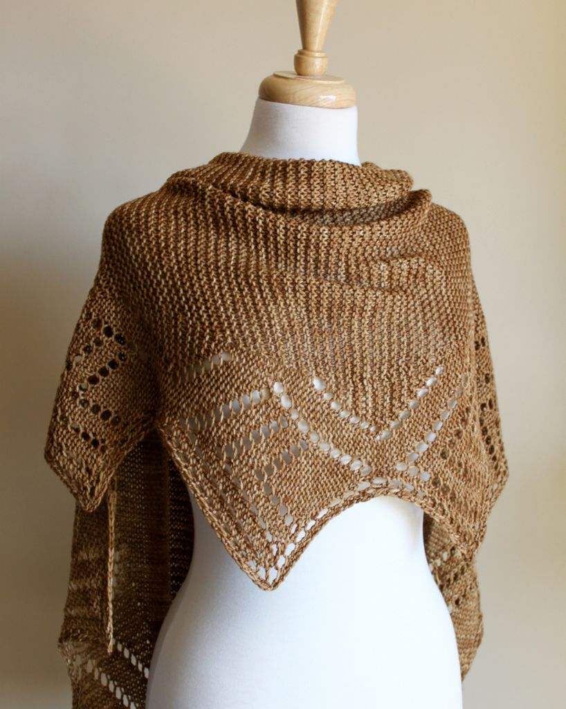 Patternfish The Online Pattern Store Golden Harvest Shawl By