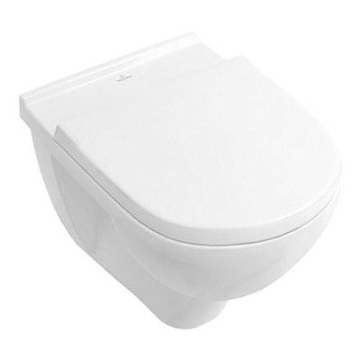 Villeroy & Boch O.Novo Wand WC mit Sitz wandhängend 5660HR01 Directflush ohne Spülrand