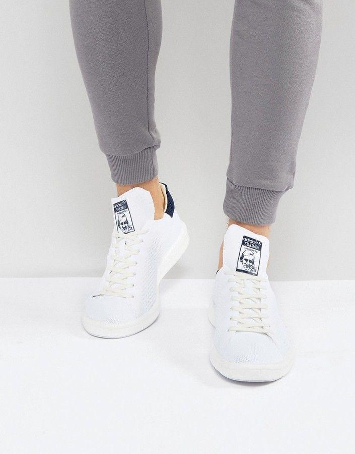 adidas stan smith impulso primeknit scarpe bianche bb0012