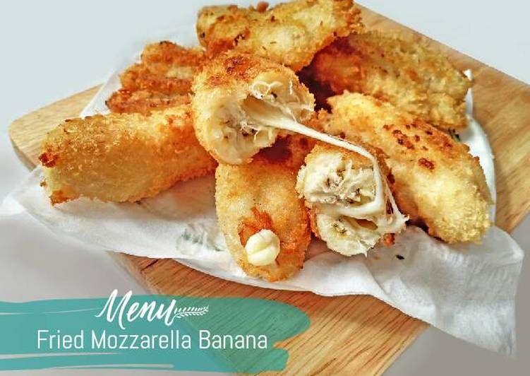 Resep Pisang Goreng Crispy With Mozzarella Favorit Selain Pisang Goreng Original Ternyata Ada Banyak Ide Aneka Olahan Pisang Goreng Makanan Mozzarella Resep