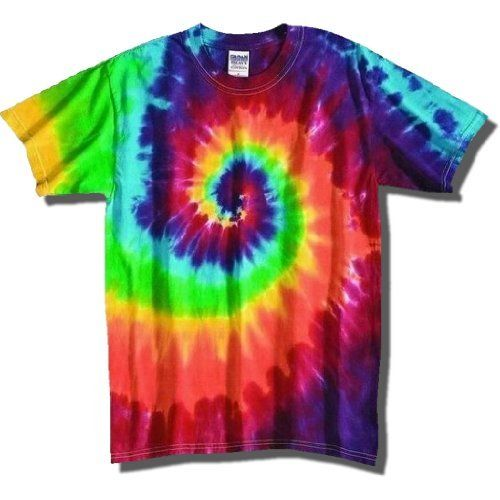Tie dye tshirts bring back visions of the hippie years. The beautiful, colorful, and eye-catching tie dyes are back in style. Peace, love, and even the music of the era are making their way back into the mainstream. Almost everyone loves colorful, fu