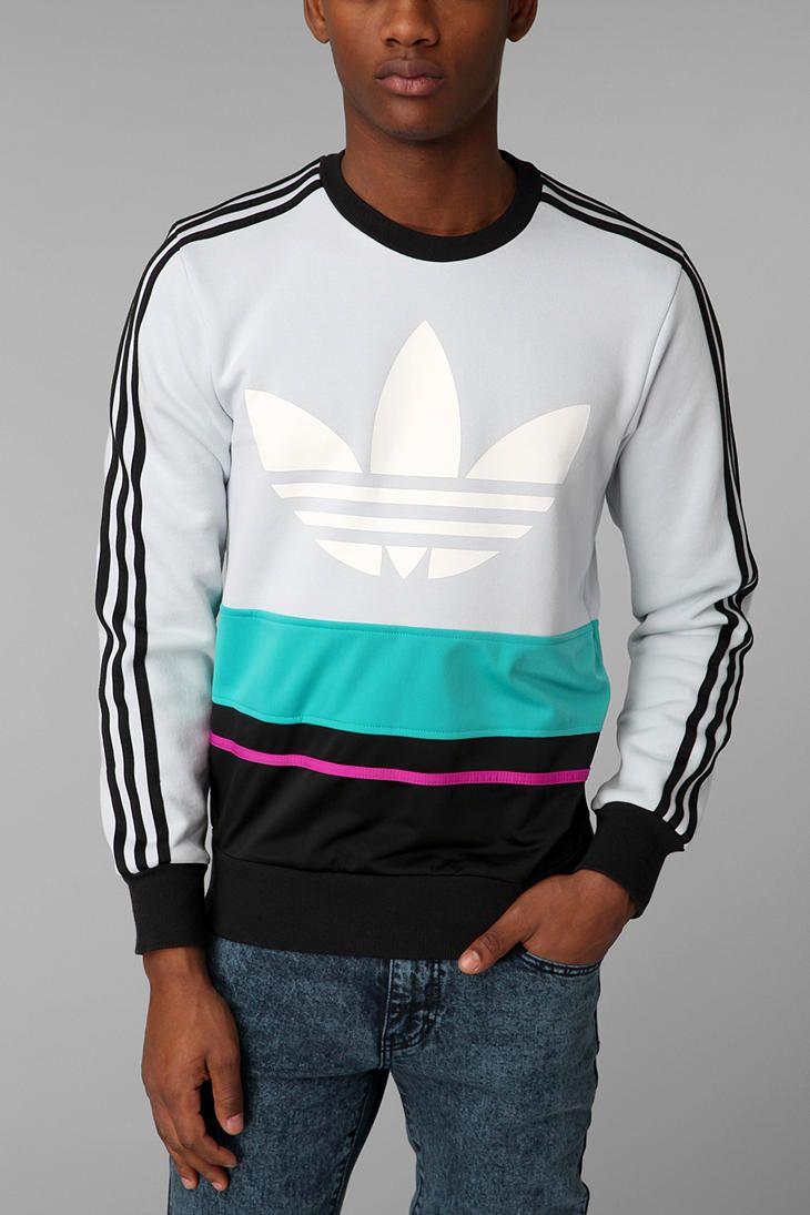 adidas C90 Art Pullover Sweatshirt   New man clothing