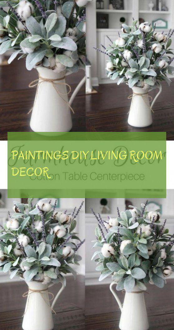Paintings diy living room decor