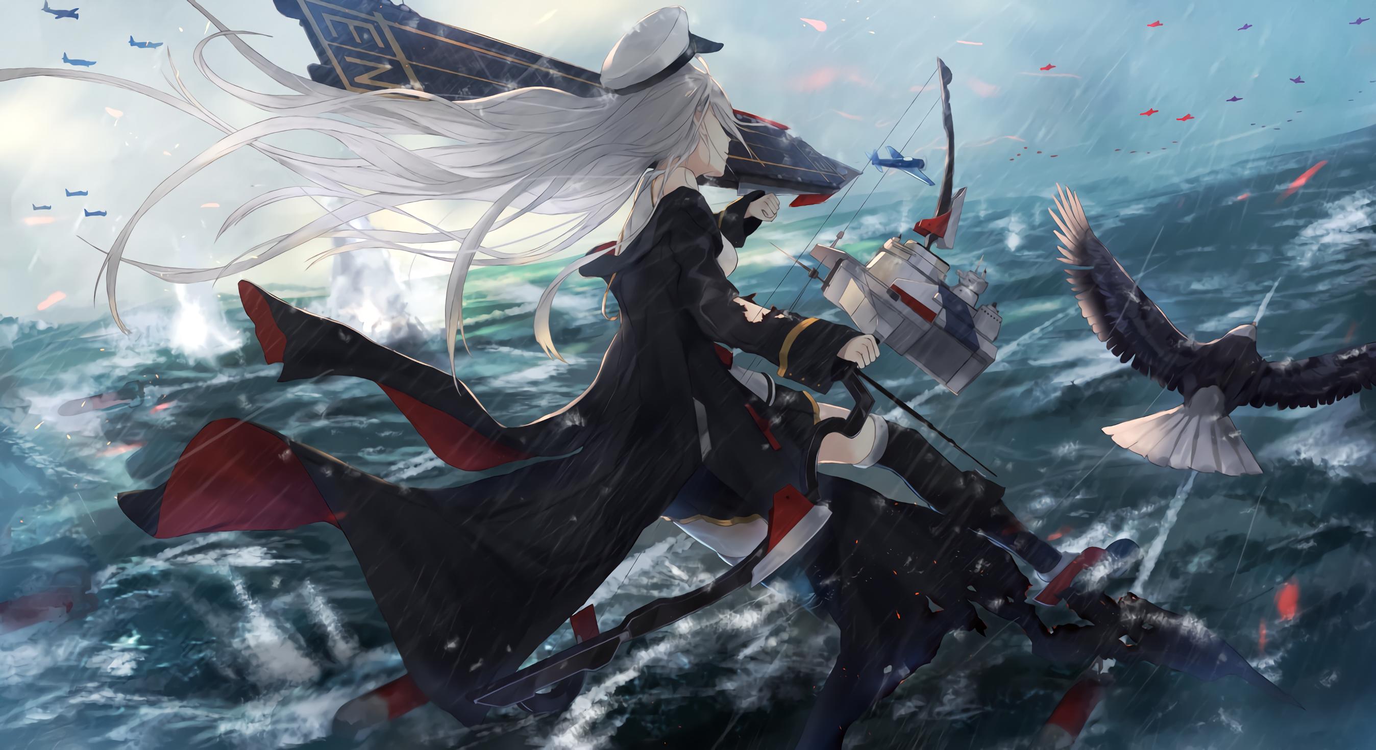 USS Enterprise Enten, Prinz eugen, Anime