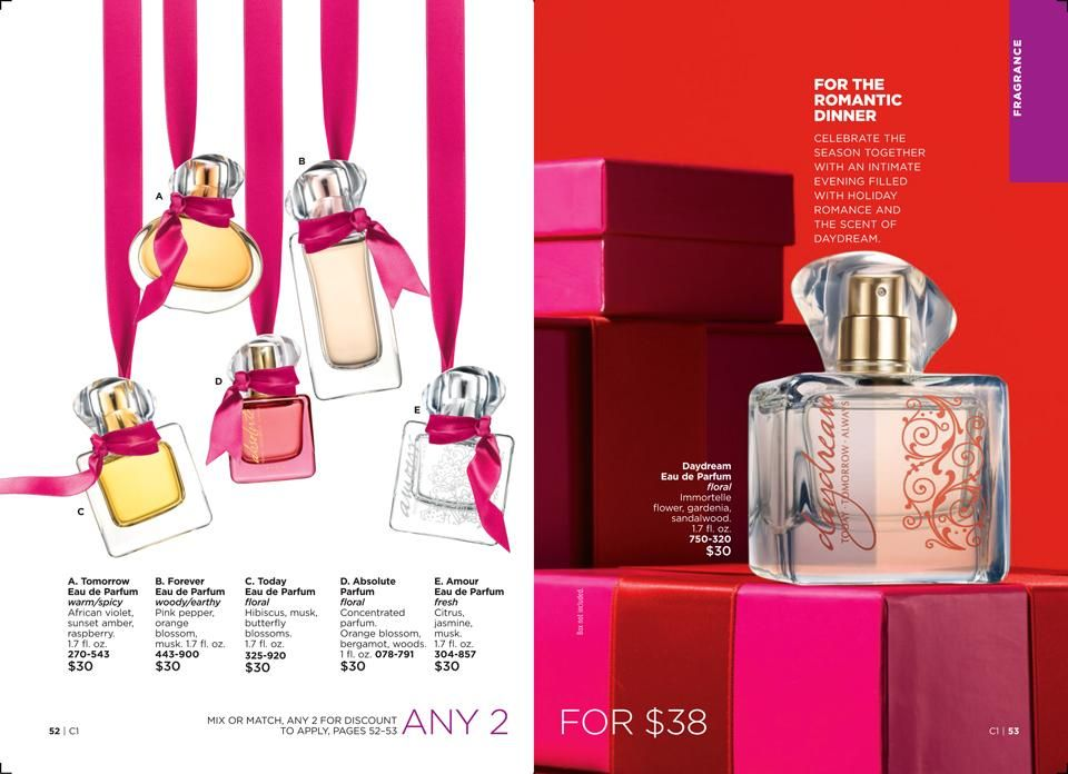 Shop Avons Today Tomorrow Always Fragrance Collection Any 2 For 38