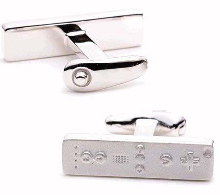 Game up your formal wear with Game Controller cufflinks