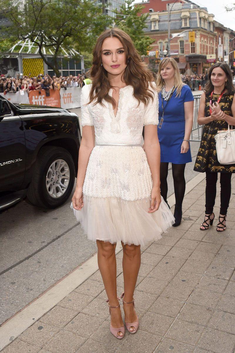 "Keira Knightley looking elegant at ""The Imitation Game"" premiere - TIFF Fashion"