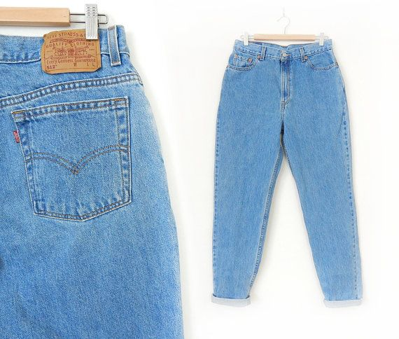 Well known Vintage 80s 90s High Waist Levi's 512 Slim Tapered Leg Jeans  HH59