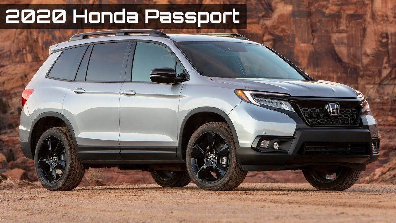 All New 2020 Honda Passport And Features In 2020 Honda Passport Honda Cars Usa