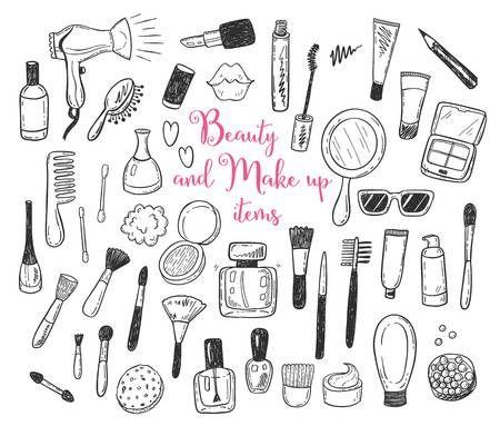 11 makeup Logo cartoon ideas