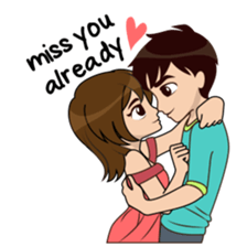 Cute funny cartoon couple images