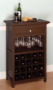 #Wine Cabinet with Drawer and Glass Rack by Winsome ~  4.2 out of 5 stars  See all reviews (11 customer reviews) ~  List Price:$200.00 ~  Price:$159.69 ~  You Save: $ 40.31 (20%) ~  http://www.amazon.com/dp/B003BX5HDS/ref=as_li_tf_til?tag=balitour07-20=0=0=as1=B003BX5HDS=1C6KVSMH0ZEBXADGZF5A