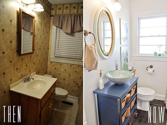 Nice DIY Budget Bathroom Renovation Reveal