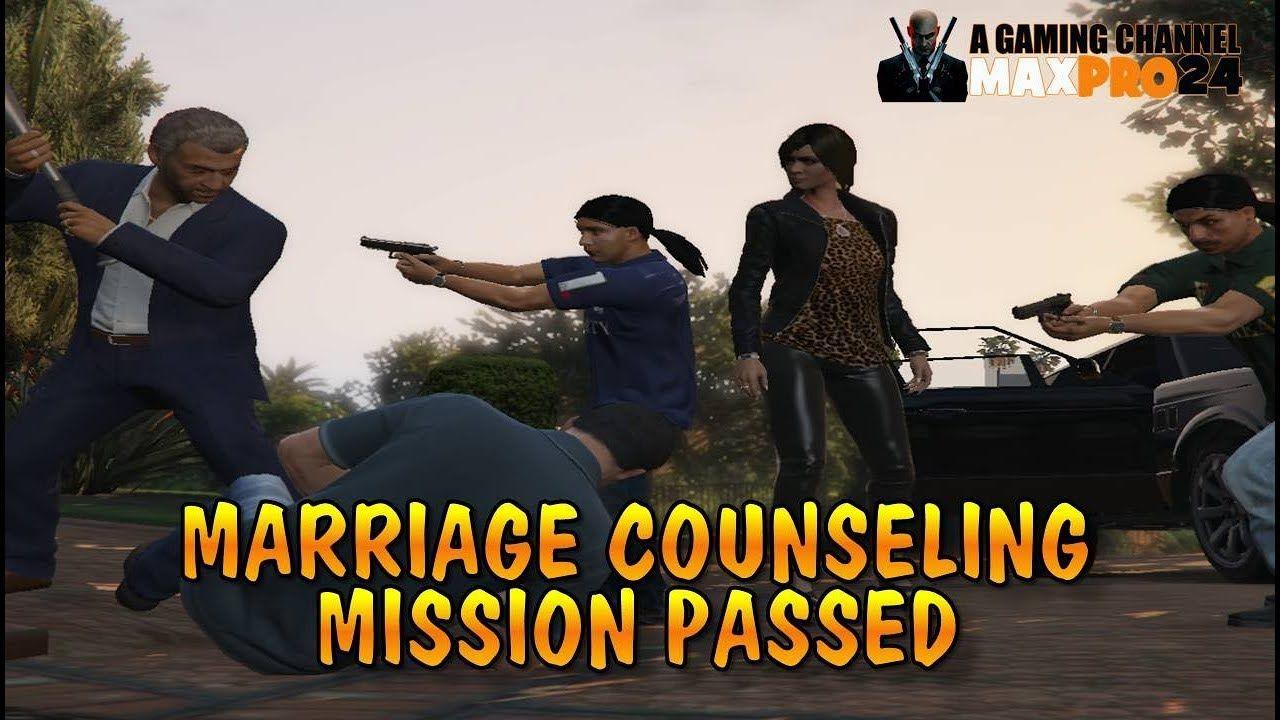 Grand Theft Auto V (GTA V) Gameplay Walkthrough - Marriage