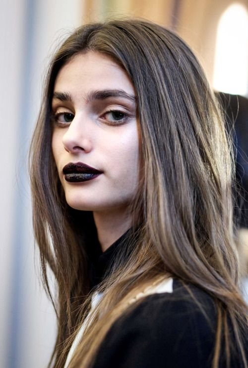 Taylor Marie Hill - Beauty at Emanuel Ungaro Fall 2015   PFW.