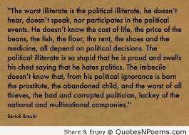 Bertolt Brecht Quotes Quotes Political Events Words