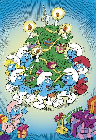 Smurfs, Christmas | Smurfs | Pinterest