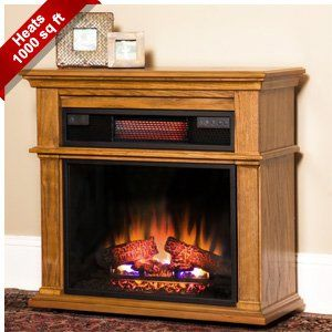 Amazon Com Duraflame Chandler Sq Ft Oak Portable