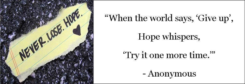 """I made this one morning when I was feeling hopeless...yet determined to """"try it one more time!"""""""
