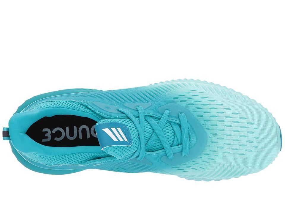 a391fb1f4957 adidas Running Alphabounce EM Women s Running Shoes Energy Aqua Energy Ink Footwear  White