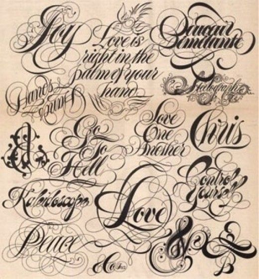 The Art of Choosing the Perfect Font and Lettering for a New ...