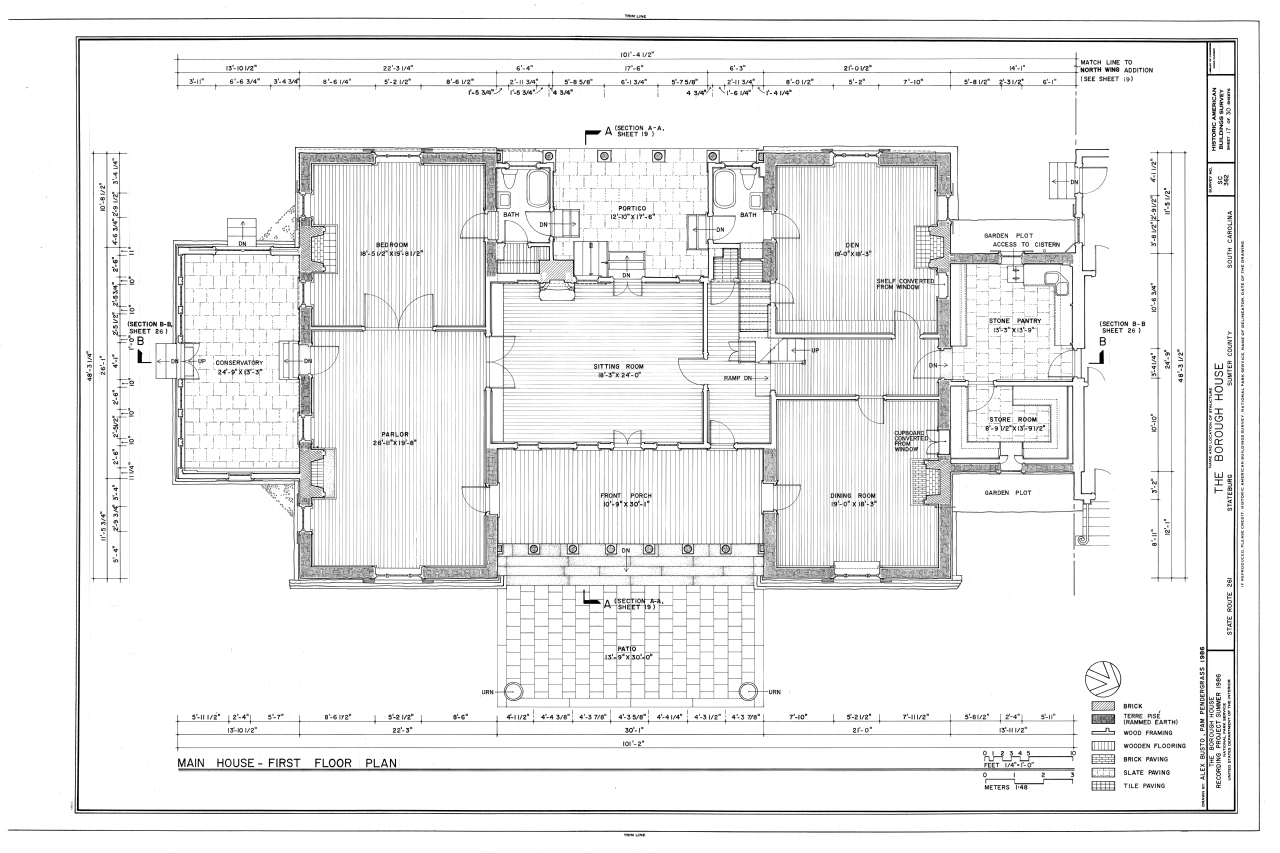 Borough House Stateburg Sumter County Sc House Design House Floor Plans Rammed Earth