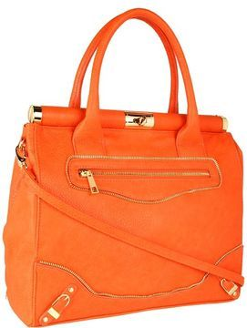 474f44b5e07ac1 olivia + joy - Miss Priss Satchel (Orange) - Bags and Luggage on shopstyle .com