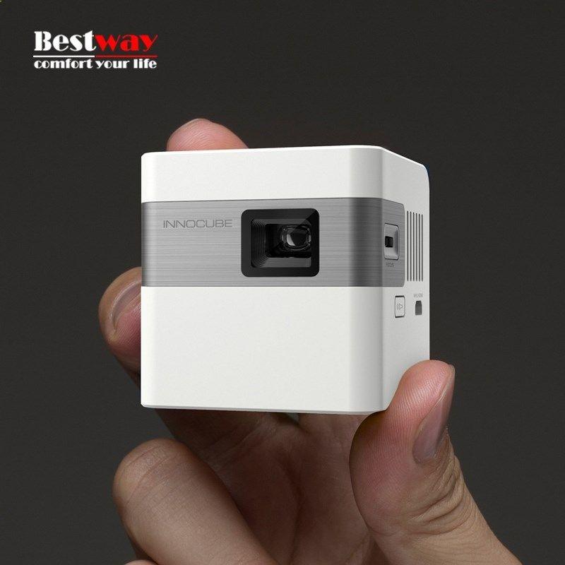 329.99$ Buy here - alienr.worldwells... - LED Mini Projector TV Proyector DLP Beamer Smartphone Projector Portable Projetor Video Projectors Videoprojecteur Projeksiyon