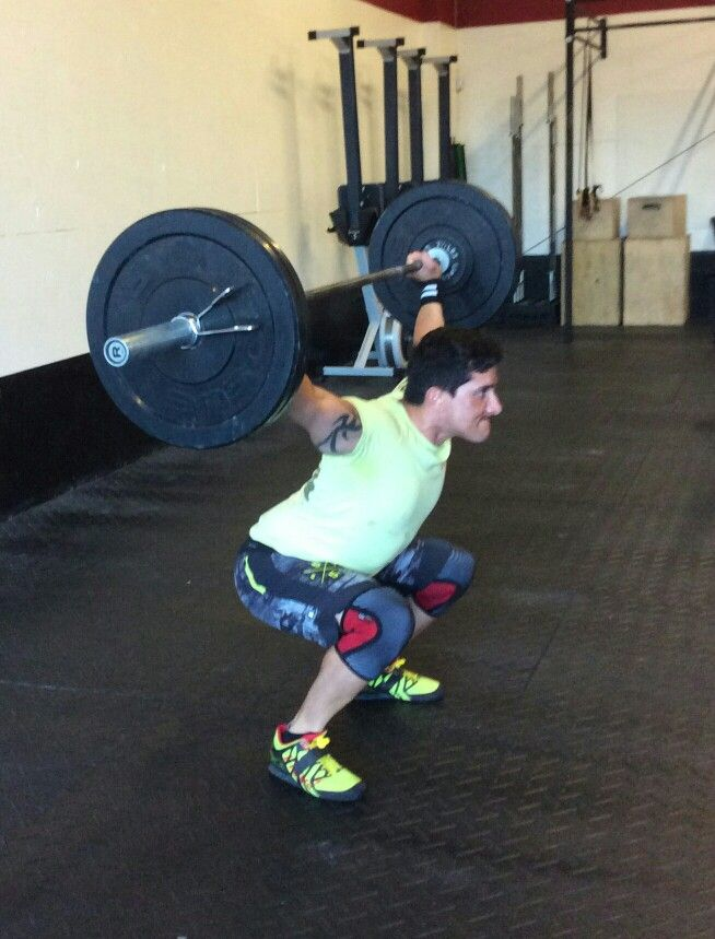 Working on Overhead Squat (Shoulder) ROM.