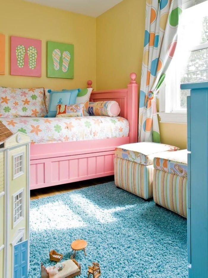 Peinture chambre fille \u2013 variez les palettes idées maison