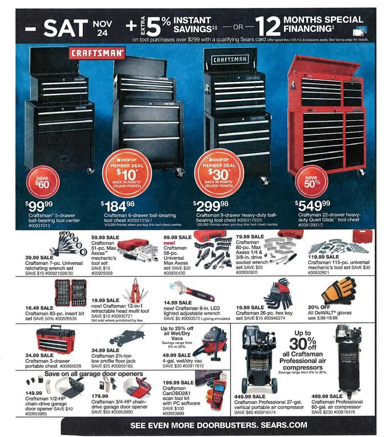 Pre Black Friday Sales That Are Live Now Black Friday Sears