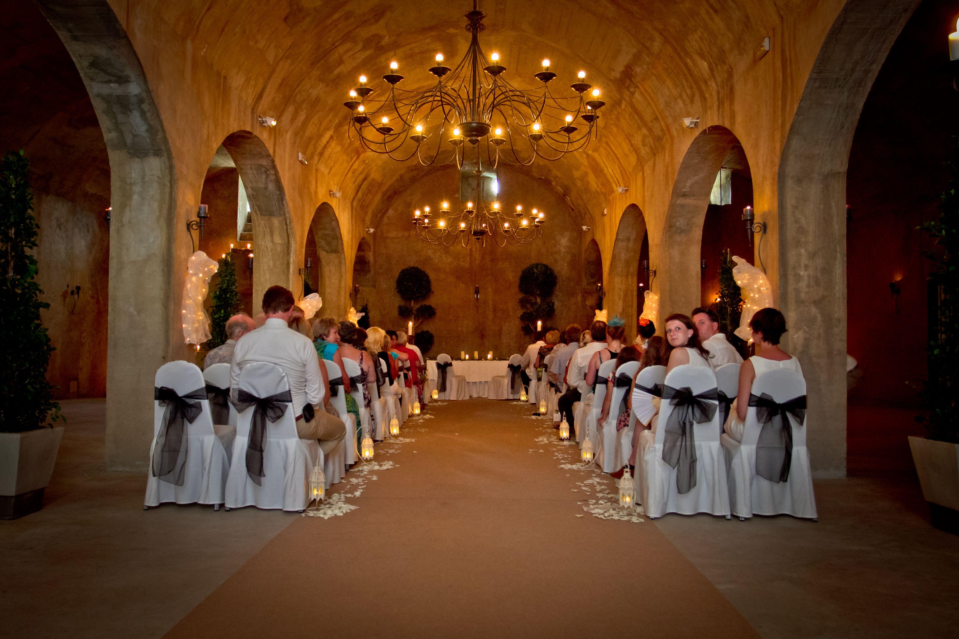 Inside ceremony spanish wedding wedding spain ceremony