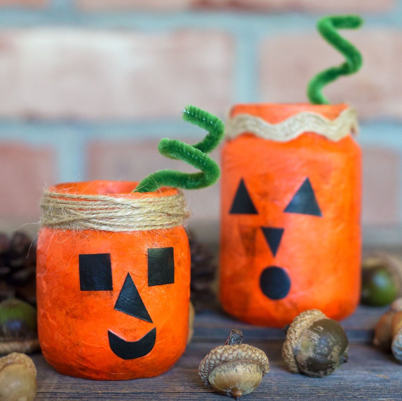 How To Make Jack O Lantern Nightlight Jars