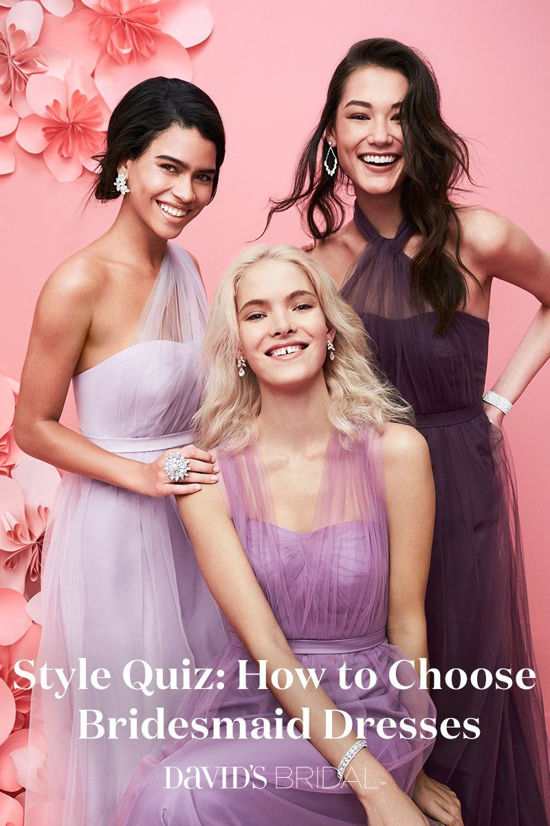 A graceful choice, long bridesmaid dresses move fluidly and embody ...