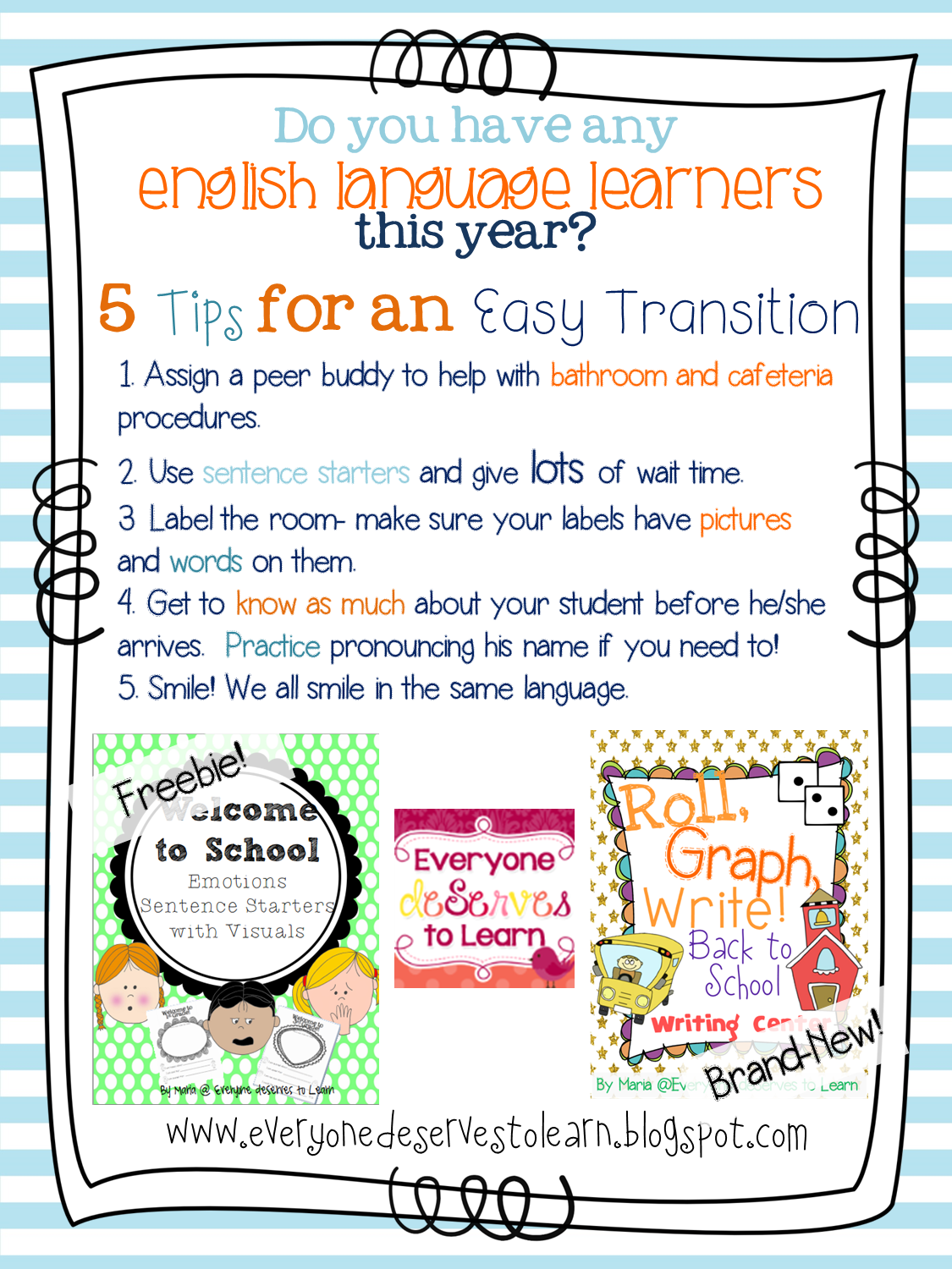 Back to School with English Language Learners