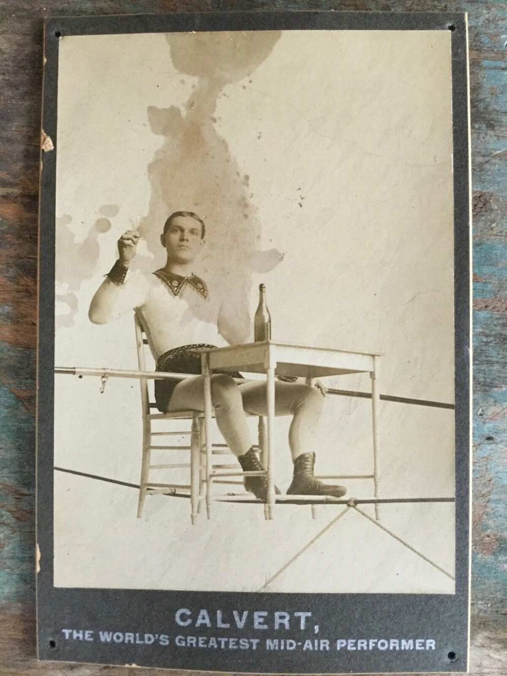 Tightrope Walker on Chair World's Greatest MidAir