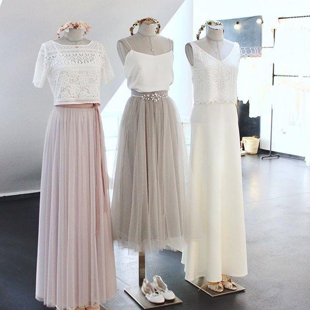 Einzigartige Brautkleider und Brautaccessoires im Online-Shop