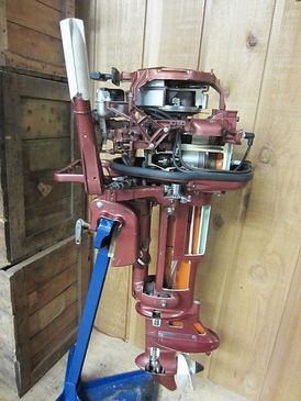 Ahlstrand Marine's Antique Outboard Motors For Sale | Old