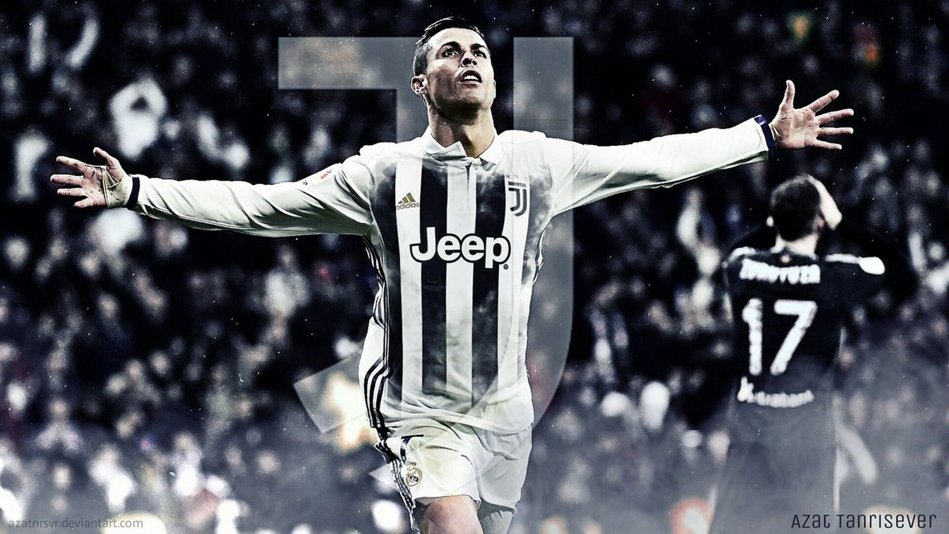 Wallpaper C Ronaldo Juventus Desktop Best Wallpaper Hd