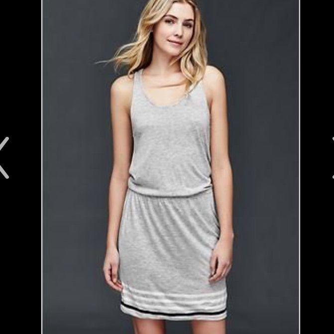 Gap Grey Tank Dress - Small