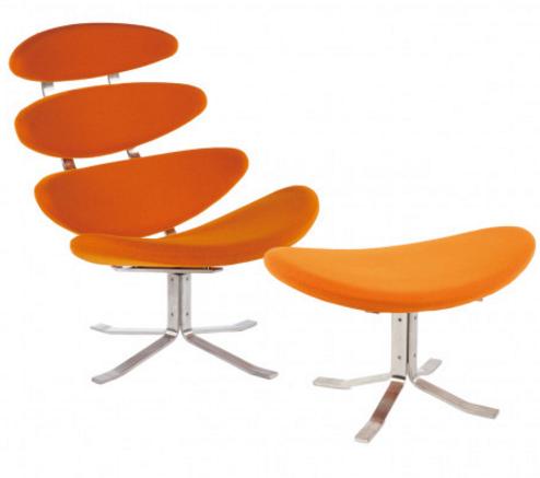 Attirant 7 Orange Lounge Swivel Chairs For A Modern Home #interiordesign #orange  #furniture #