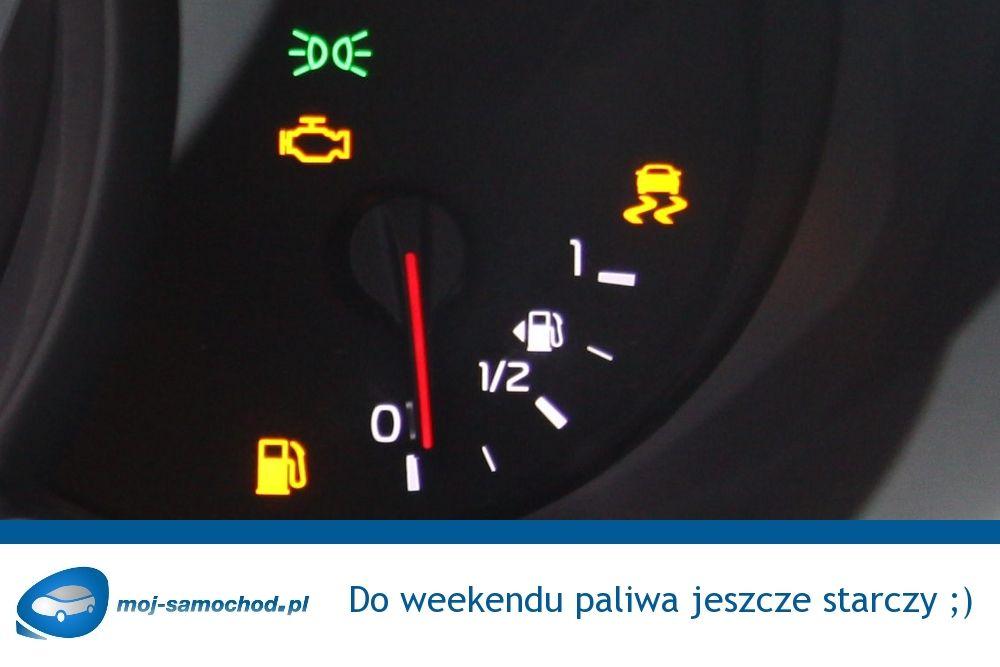 Do weekendu paliwa jeszcze starczy! ;-) #weekend #piąteczek Jakie plany na ten weekend macie?