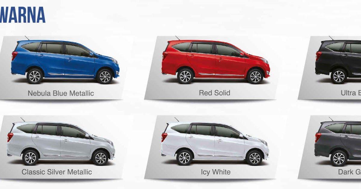 Gambar Warna Mobil Sigra Galeri Gambar Mobil Sigra X Mt Dunia