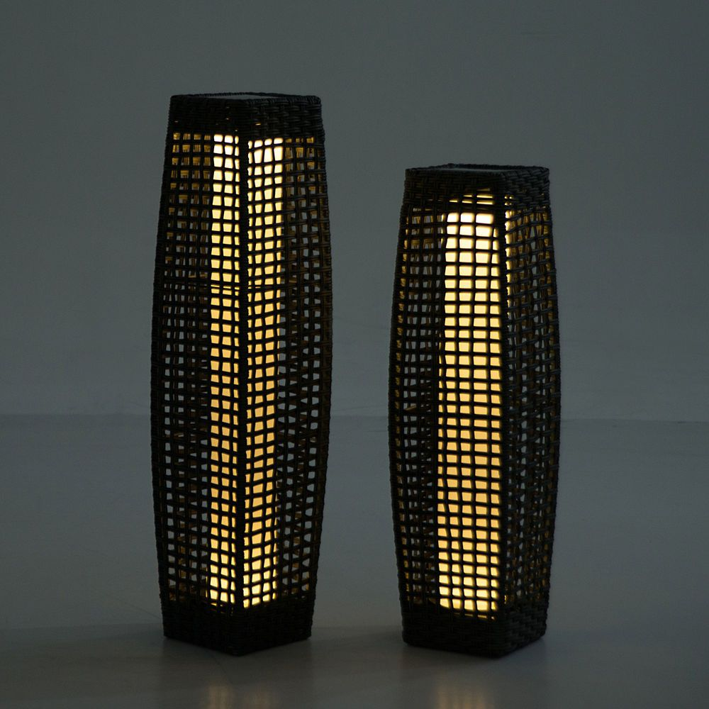 This Rattan Woven Led Lamp Is A Perfect Item To Have To Complement Any Home,