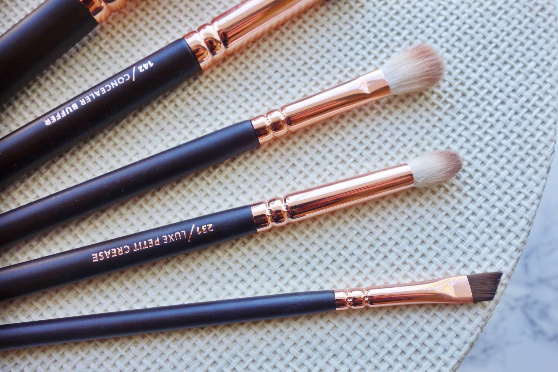 Zoeva Rose Golden Luxury Brush Set Brush set, How to