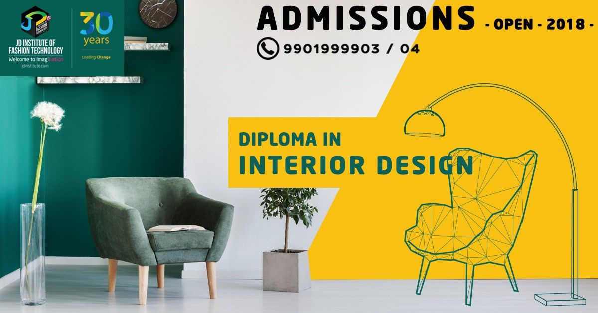 To Design Or To Decorate Envision Spaces Like Only You Can Do Enrol For The 1 Year Di Diploma In Fashion Designing Interior Design Courses Technology Fashion