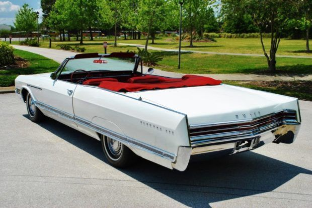 White on Red: Restored 1965 Buick Electra 225 Convertible | Bring a Trailer