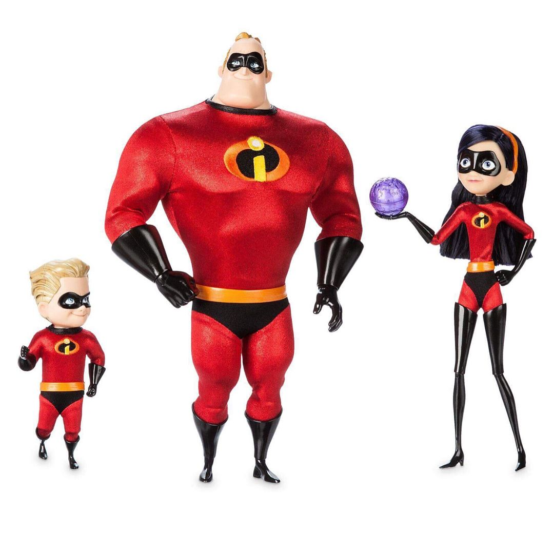 NEW WITH TAG  DISNEY PIXAR 2004 THE INCREDIBLES VIOLET  PLUSH CLIP