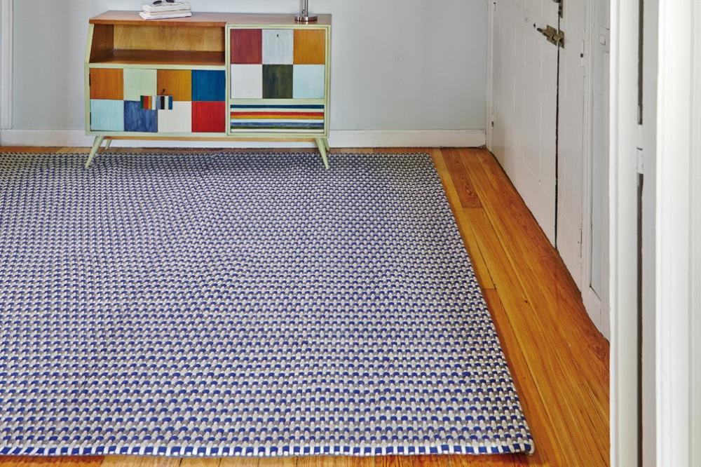 Rugs On Carpet, Blue Rug