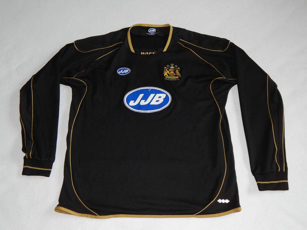 Wigan Athletic 2005 06 Football Long Sleeve Away Shirt Mens Xl